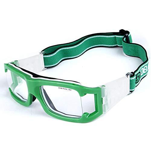 Uteruik Basketball Brille Schutzbrille - Sport Fußball Brillen Augenschutz für Erwachsene, 1 Set (Style - B)