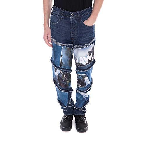 G-STAR RAW - Jeans - Spiraq Patches - Azul