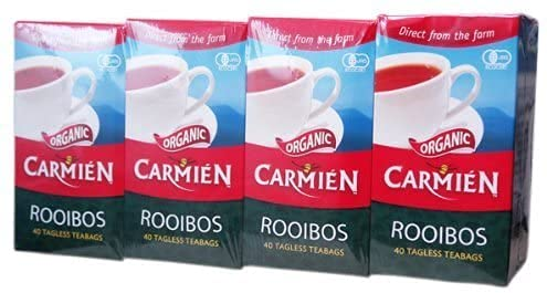 CARMIEN Kamien Organic Rooibos Tea 40 Selling and selling 4 Our shop OFFers the best service T Pack Bags 160
