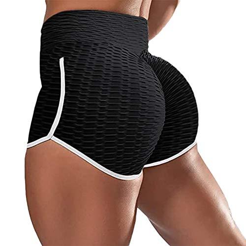 Mallas Push up Mujer Leggins Baratos Deportivos Yoga Leggings de Cintura Alta Pantalones Deporte para Fitness Running Shorts Compresion Cintura Elásticos Yoga Fitness