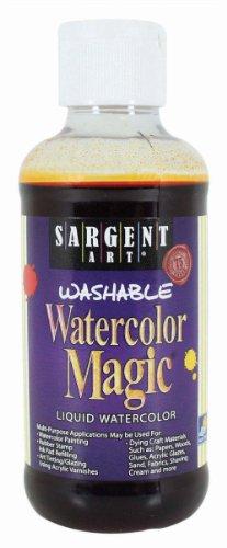 Sargent Art 22-6014 8-Ounce Watercolor Magic, Orange