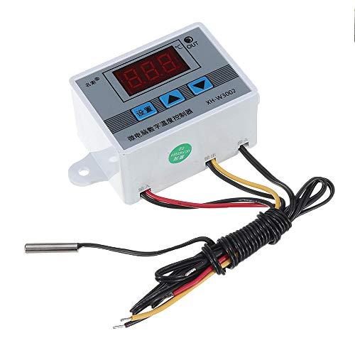 Condensadores 24V XH-W3002 Micro Digital termostato de Alta precisión de Control de Temperatura del Interruptor de Calentamiento y enfriamiento de exactitud 0,1 (3pcs)