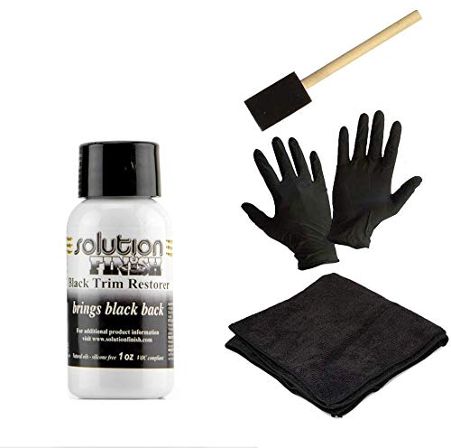 Gold Label Detailing Solution Finish with Install Kit | 2 Black Gloves | 1 Application Tool | 1 Black Microfiber Towel (1oz)