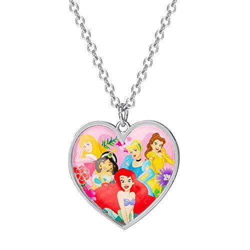 Disney Princess Collar Mujer latón No aplica redonda - NH00817RL-16