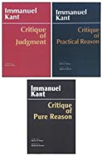 Three Critiques: WITH Critique of Pure Reason AND Critique of Practical Reason AND Critique of Judgment: WITH Critique of Practical Reason by Immanuel Kant (1-Mar-2003) Paperback