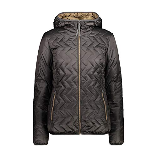 CMP Gefütterte Feel Warm Flat Jacke für Damen XL Dust