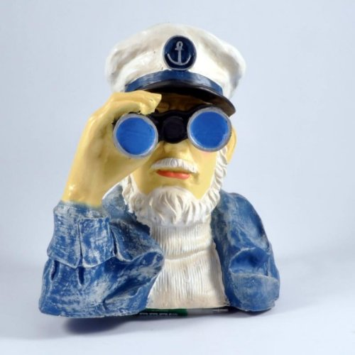 Seemann mit Fernglas # Spanner für den Garten