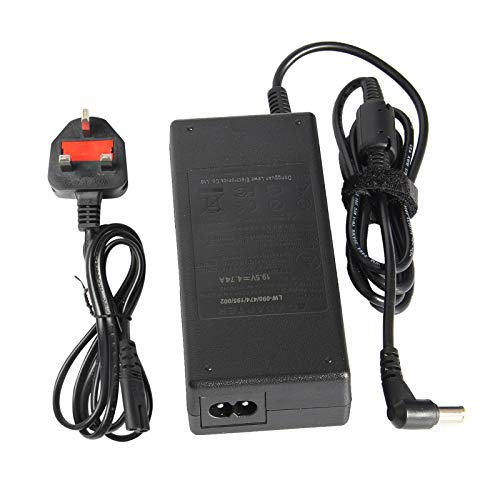 ASUNCELL 90W AC Adapter Laptop Charger for Sony VAIO PCG VGC VGN Series PCG-700 PCG-800 PCG-F PCG-FR PCG-GRT PCG-FX PCG-GRS PCGA-AC19V10 PCGA-AC19V11 VGP-AC19V10 VGP-AC19V12 19.5V 4.7A