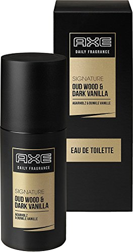 3 x Axe Signature Agarholz & Dunkle Vanille EDT Spray jeweils 100 ml for man