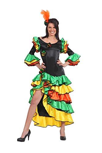 Pegasus Vestito Costume Maschera di Carnevale - Adulti Brasiliana - Taglia 44 Colore Come da Foto