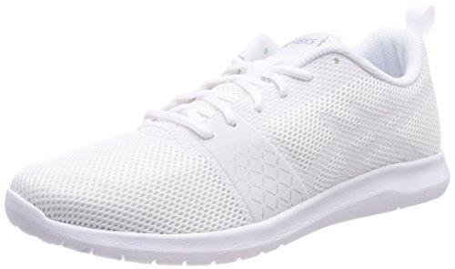 Asics Kanmei MX, Zapatillas de Running para Mujer, Blanco (White/Silver 0101), 38...