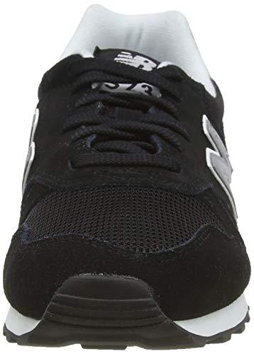 New Balance 373 Core, Zapatillas Hombre, Black, 42.5 EU