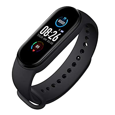 Fitness Tracker,Smart Watch,Heart Rate Monitor IP67 Waterproof Activity Tracker Pedometer, Blood Oxygen, Pressure, Sleep Monitor,with Magnetic Charging,Women and Men Fitness Tracker