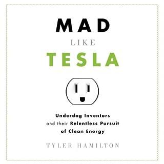 Mad Like Tesla audiobook cover art