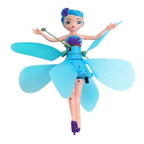 Flying Flower Fairy Doll - Muñeca de Hada voladora con Control de inducción por Infrarrojos
