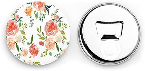 Secret Garden - Bloc de notas magnético para nevera, bonito y bonito, juego de imanes para gabinetes de oficina, cocina, restaurante, frigorífico, pizarra blanca, 2,28 pulgadas, 2 unidades