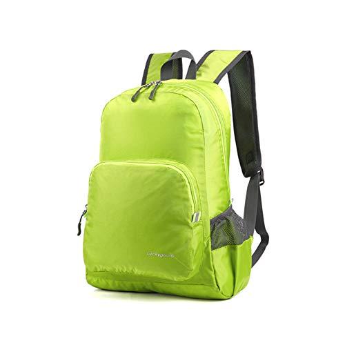 SHRHWB Faltbarer Rucksack 25L Outdoor Reiserucksack Leichter Tagesrucksack Wandern Daypack Camping Rucksack für Männer Frauen