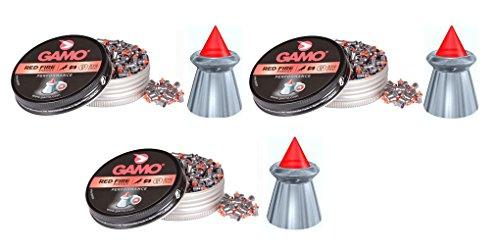 Outletdelocio. 3 latas de 100 perdigones Gamo Red Fire 5,5mm. Modelo 322704