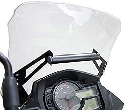 USA Gear GPS Bicicleta Soporte Movil Moto con Manillar Funda Táctil Impermeable con Visualización De 360 Grados Compatible con Unidades Garmin, Zumo