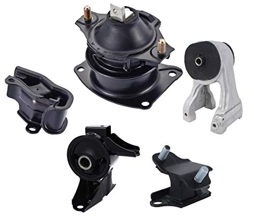 ENA Front Rear Engine and Trans Mount Set of 5 Compatible with 2005 2006 Honda Odyssey 3.5L LX EX VTEC