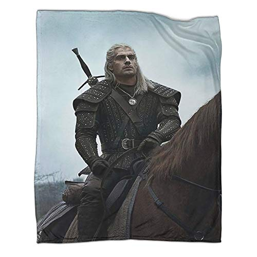 Xaviera Doherty The Witcher 3 Wild Hunt Hunting Geralt Game Super Soft Fleece blanket60x80inch(150x200cm) Single Casual Blanket in winterChildren's Bedding