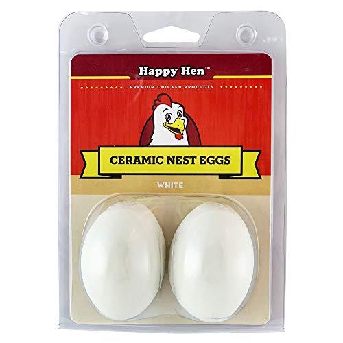 Happy Hen Treats Œufs de nid en céramique