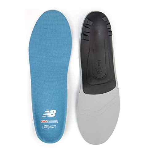 New Balance Casual Slim-Fit Arch Support Insole, Niagara, Medium/8.5-10 WMNS/7.5-9 Mens