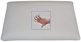 Almohada ortopédica viscoelástica (80 x 40 x 9 cm), para Dormir Boca Abajo, Suave