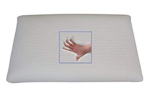 Orthopedisch gel gelschuim hoofdkussen buikslaapkussen neksteun kussen 80 x 40 x 9 cm slaapkussen voor buikslapers zacht/zacht kussen