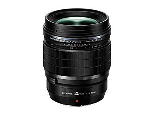 Olympus M.Zuiko Objectif Digital ED 25mm 1:1.2 Pro, adapté à
