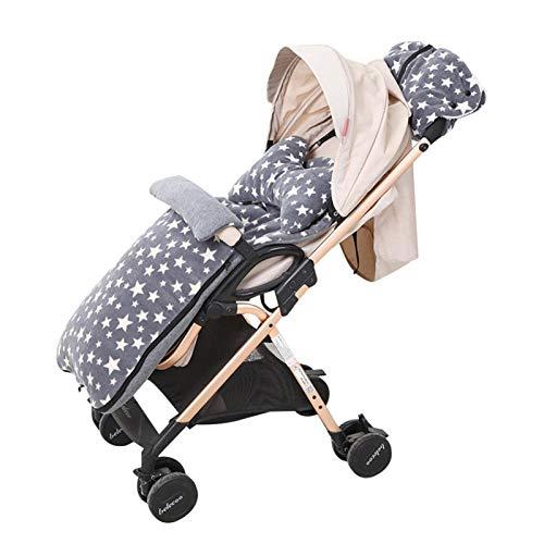 Adminitto88 - Coprigambe universale per passeggini e passeggini Cosytoe, fodera 0-3 anni, in pile polare, per passeggino, impermeabile, antivento, caldo