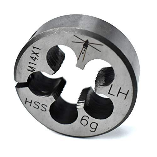 Lighthouse quality tools - M14X1 LH HSS Adjustable Round Threading Die