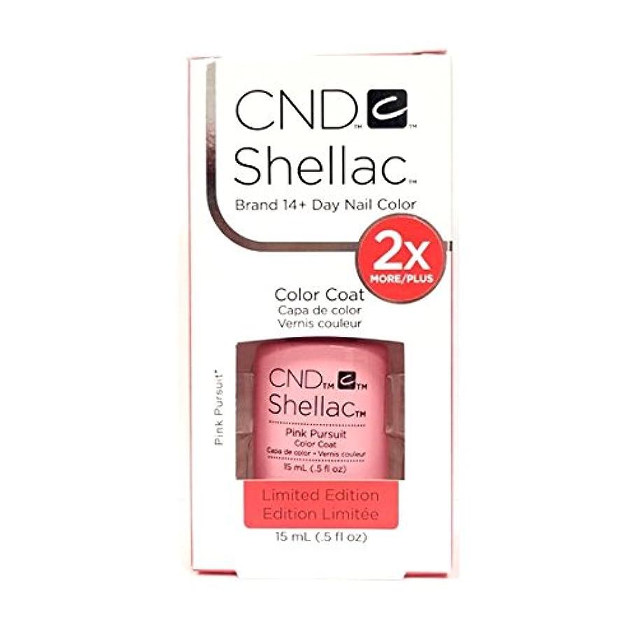 小包爆発物アパルCND Shellac - Limited Edition! - Pink Pursuit - 15ml / 0.5oz