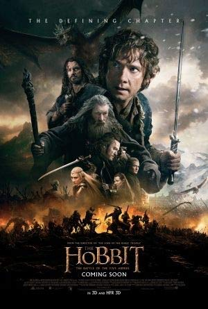 The Hobbit : Battle of The Five Armies Film Poster Plakat Drucken Bild - 30.4 x 43.2cm Größe Grösse Filmplakat