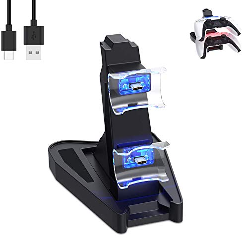 for PS5 Controller Charger, Fast Charging Dock for Playstation 5...