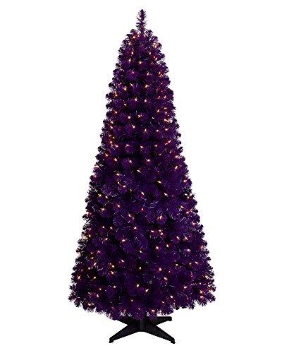 Treetopia Basics - Purple Tree, 6 Feet, Clear Lights