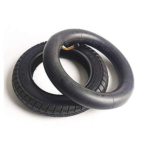 ZHANGYY Neumáticos para patinetes eléctricos, 10 Pulgadas, 10 x 2,5 cm, Antideslizantes, Gruesos, Resistentes al Desgaste, neumáticos internos y externos, adecuados para Accesorios de scoo