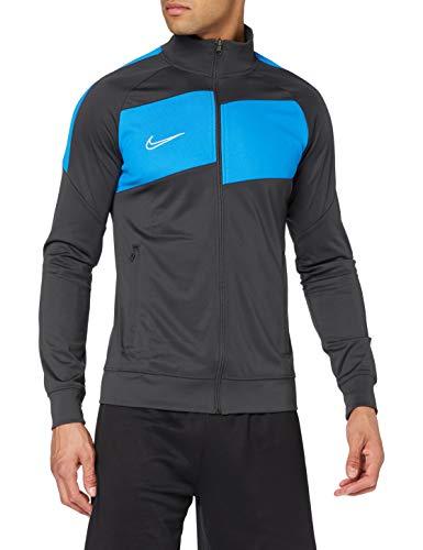Nike Herren Academy Pro Knit Jacket Trainingsjacke, Anthracite/Photo Blue/(White), 2XL