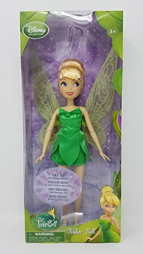 Disney Collection Tinker Bell 10 Inch Doll (Wings Flutter) Fairy Fairies Figure