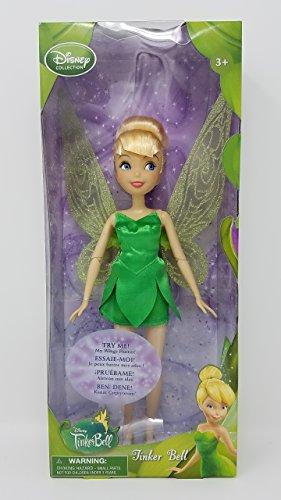 Disney Sammlung Tinkerbell 10 Inch Puppe (Flügel Flutter) Fee-Feen Abbildung 1 10 Zoll