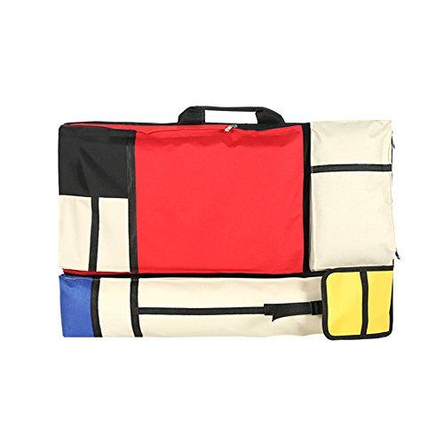 Leah 's Fashion® Painting Kits Portfolio Bag for Sketch Tarjeta Easel palé Brushes Storage (64cm * 48cm)