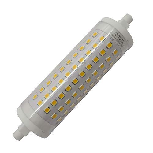 R7s LED 15W 118mm x 29mm dimmbar+ (verbesserte Dimmung) warmweiß Leuchtmittel Stab Lampe (R7s 118mm x 15mm dimmbar)