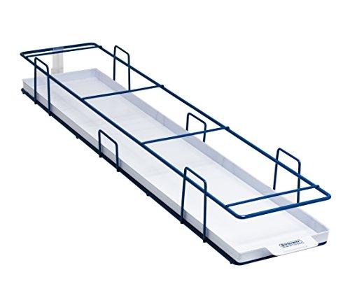 Bel-Art Modular Ultra-Low Vriezer Rek met Lade; 5 Plaatsen, 27 x 6 x 31⁄2 in, Blauw (H18992-0012)