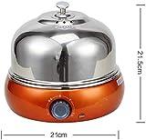 XYNB Hervidor de Huevos de Acero Inoxidable 304 (9 Huevos) Cocedor de Huevos Automático Multifuncional