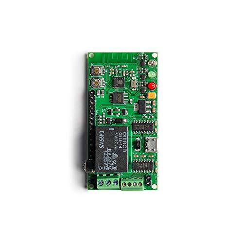 Malouf Electronics ESP8266 Development Board, High Capacity 16MB Flash, Relay, IR Receiver, IR Blaster, RS232 Interface, WiFi Module Works with Arduino/Micropython