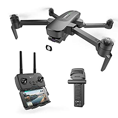 HUBSAN Zino Pro+ 4K Drone with Three-axis stabilization Gimbal,FPV Distance 8km,Panoramic Photos, Time Lapse Photography with 3s Smart 5000mHA Battery Support a Long Trip.