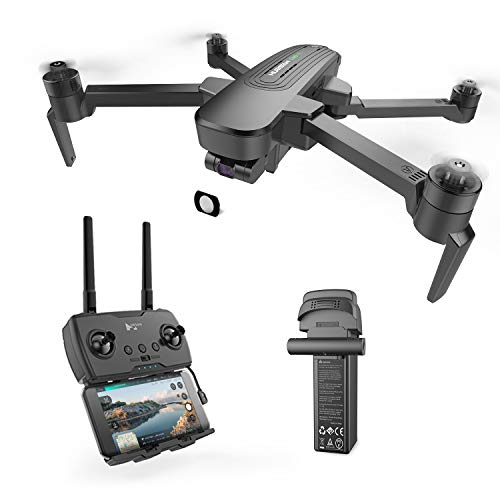 HUBSAN Zino Pro Plus 4K Drone with Three axis stabilization Gimbal,FPV Distance 8km,Panoramic Photos, Time Lapse Photography with 3s Smart 5000mHA Battery Support a Long Trip.