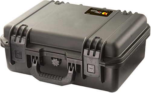PELI Storm IM2200 Maleta técnica estanca para cámaras SDLR, GoPro, réflex y Drones, 15L de Capacidad, Fabricada en EE.UU, sin Espuma, Color Negro