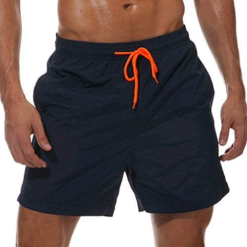 SILKWORLD Men's Swim Trunks Quick Beach mart Shorts Pockets with Ranking TOP16 Dry