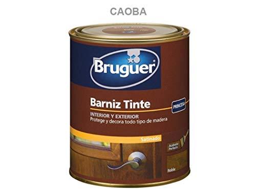 Bruguer 5160558 - Barniz tinte satinado Bruguer Princesa CAOBA